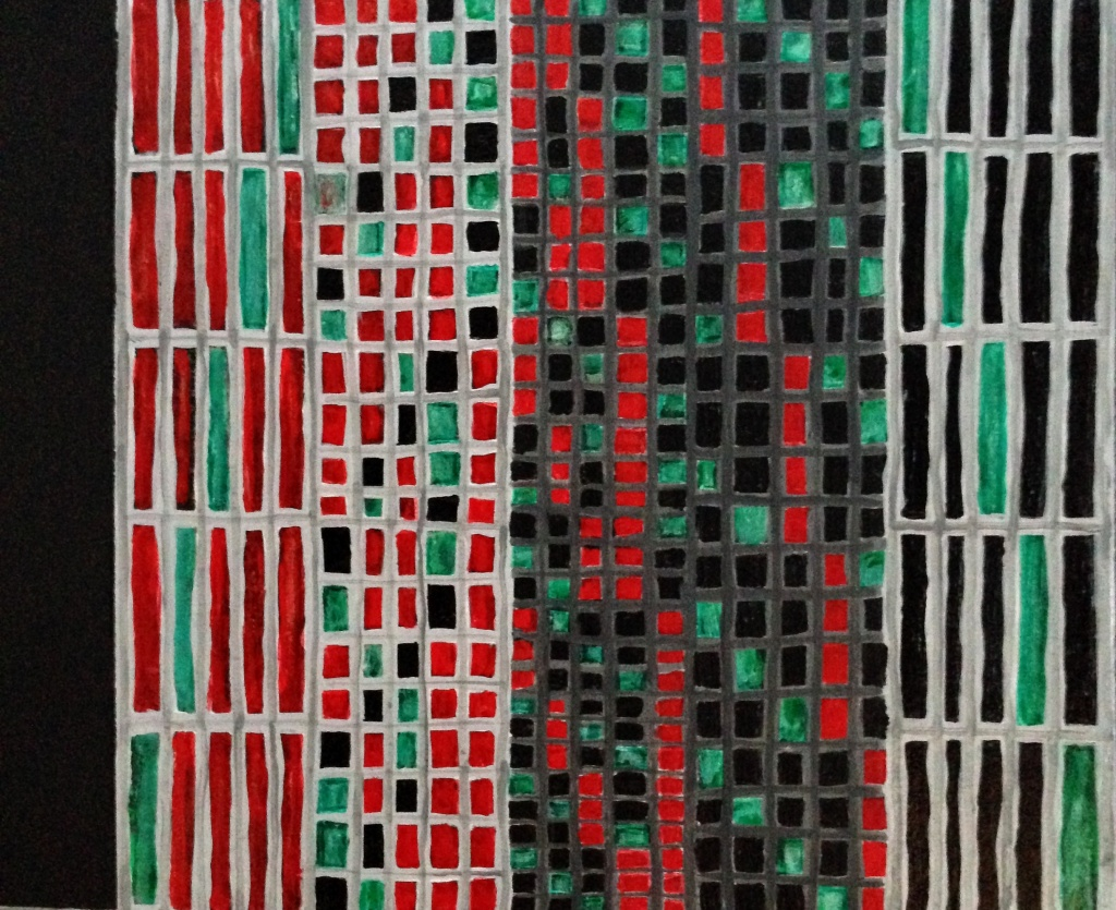 André Clouâtre, 243 propositions (détail), 2013